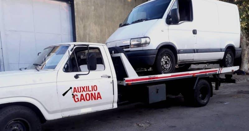 grúas para camionetas